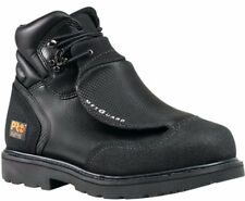 "New Timberland PRO Met Guard Men's 6"" Steel Toe Black Leather Boots"