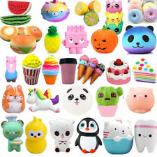 Kawaii Slow Rising Squishies Scented Charms Squeeze Kids Adult Squishy Toys Lot