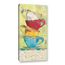 ArtWall Courtney Prahl's Come For Coffee, Gallery Wrapped Canvas