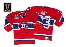 PATRICK ROY Montreal CANADIENS 1993 STANLEY CUP Mitchell & Ness AUTHENTIC Jersey