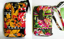 Vera Bradley Carry it All Wristlet Bittersweet or English Rose NWT