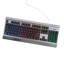 LED Illuminated 104Key Keyboard USB Wired Gaming Keyboard for Laptop Gamer