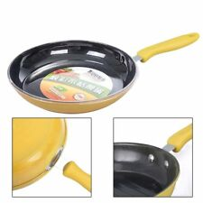 Non-stick steel Frying Pan No Oil-smoke Kitchen Cooking Tool 26/28cm Home Pan HT
