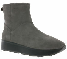 WOW Geox shoes ladies leather ankle boots suede boots D Gendry C Grey SALE