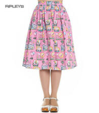 Hell Bunny Vintage Pin Up Rockabilly 50s Skirt MAXINE Pink Flamingos All Sizes