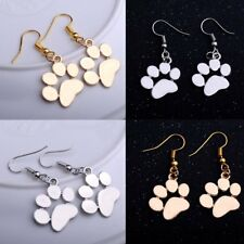 Cute Sliver Gold Dog Claws Dangle Drop Hook Earrings Women Party Jewelry Gift