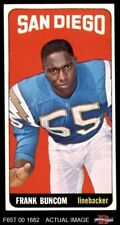 1965 Topps #156 Frank Buncom Chargers EX