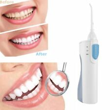 Portable Rechargeable Oral Irrigator Electric Dental Water Flosser Cleaner BK
