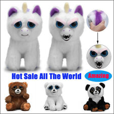 Lovely Funny Pet Soft Plush Stuffed Scary Face Play Toy Animal For Children Kids