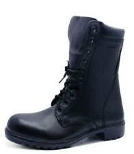 MENS GENUINE LEATHER ARMY MILITARY ASSAULT COMBAT LACE-UP BOOTS SHOES SIZES 7-12