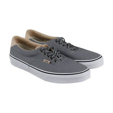 Vans Era 59 Mens Gray Canvas Lace Up Sneakers Shoes