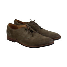 Clarks Broyd Wing Mens Tan Suede Casual Dress Slip On Oxfords Shoes
