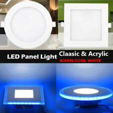 10W/15W/20W LED Recessed Ceiling Panel Light Downlight Flat Lamp Square/Round