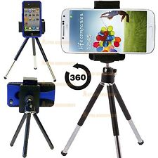 Mini Tripod Rotatable Stand Holder For Phone Camera Samsung Galaxy LG Mobile