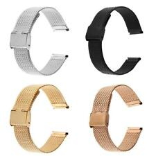 Stainless Steel Bracelet Mesh Metal Strap Wrist Watch Band Replacement 20mm