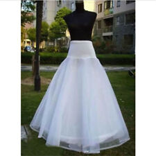 Petticoat 3 Layer Bridal Dress Wedding Dress White 1 Hoop Underskirt