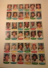 1974 TOPPS STAMP STICKER (3) Panels of 12 WILLIE McCOVEY PHIL NIEKRO TED SIMMONS