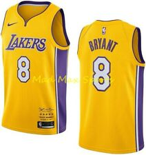 KOBE BRYANT Nike LA Lakers LIMITED Edition Retirement SWINGMAN Jersey 8 Sz S-3XL
