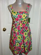 NWT 178.00 LILLY PULITZER AVALINE DOODLE BUG DAISY 2,4,6 TWO WAYS TO WEAR