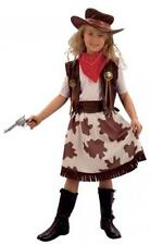 Girls wild west Cowgirl Fancy Dress Costume