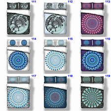 Oriental Mandala Single Queen King Size Duvet Doona Quilt Cover Set Bohemian New