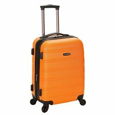 Rockland Melbourne 20-inch Carry On Spinner Upright Suitcase