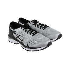 Asics Gel Kayano 24 Mens Gray Mesh Athletic Lace Up Running Shoes