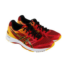 Asics Gel Ds Trainer 22 Mens Red Textile Athletic Lace Up Running Shoes