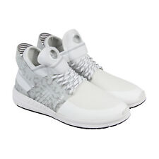 Supra Skytop V Mens White Mesh Athletic Lace Up Training Shoes