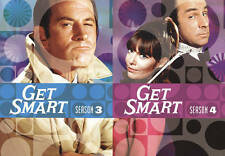 Get Smart: Seasons 3  4 (DVD, 2010, 8-Disc Set)