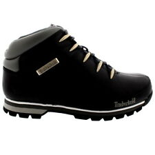 Mens Timberland Euro Sprint Hiker Leather Hikers Black Trainer Boots All Sizes