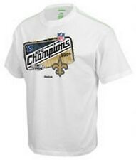New Orleans Saints 2009 NFC Conference Champions organic t-shirt Reebok new NFL