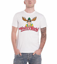 National Lampoons Vacation T Shirt Walley World Moose Logo Official Mens White