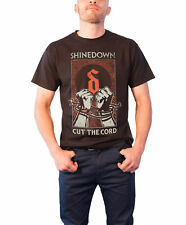 Shinedown T Shirt Cut the Cord Band Logo Official Mens New Black