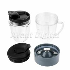 Blender Juicer Replacement Parts Lid/Cup/Blade Mug Accessories for NINJA 250W