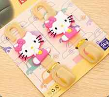 2 in 1 Cartoon HelloKitty Home Bathroom Car Multifunctional Plastic Hook AA-661C