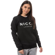 Womens Nicce Original Logo Crew Sweatshirt In Black From Get The Label