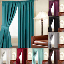 Linens Limited Faux Silk Thermal Blackout Pencil Pleat Curtains