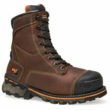 Timberland Pro 8In Boondock Waterproof Insulated Soft Toe Brown - Mens  - Size