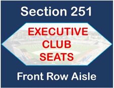 LA Dodgers vs Padres 2 Tickets- Exec Club - FRONT ROW AISLE - Sun 5/27 SPINNER!!