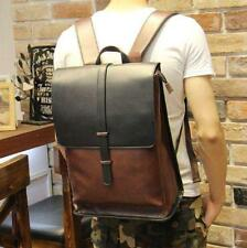 British Vintage Mens Outdoor Backpack Casual Travel Bags Fashion Shoulder Bags L