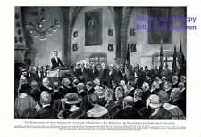 Coburg Castle XL art print 1924 inauguration Print by Martin Frost +