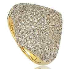 Suzy Levian Sterling Silver Pave Cubic Zirconia Modern Pave Silver