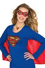 Women's Dc Comics Supergirl Choker Red One Size