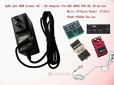 AC Adapter For Roland BOSS PSA Guitar Multi Effects Pedal DC IN 9-Volt 1A Series