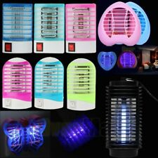 2018 Electric LED Mosquito Fly Bug Insect Trap Zapper Killer Night Lamp Light US