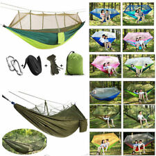 Travel Hanging Bed Sleeping Swing Portable Outdoor Camping Mosquito Net Hammock