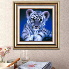 DIY Diamond Painting Cute Tiger Resin Embroidery Cross Stitch Craft Home Decor