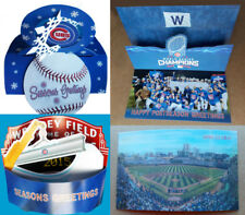 "CHICAGO CUBS Baseball -- 2014 2015 2016 2017 ""Official"" CHRISTMAS CARD ORNAMENT"