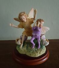 FLOWER FAIRIES Crocus Fairy Figurine A0300 by Cicely Mary Barker Border Fine Art